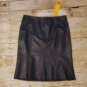 🆕Tory Burch Leather Skirt
